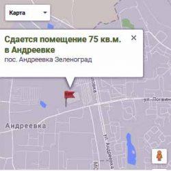 Сдается помещение 75 кв.м. в Андреевке