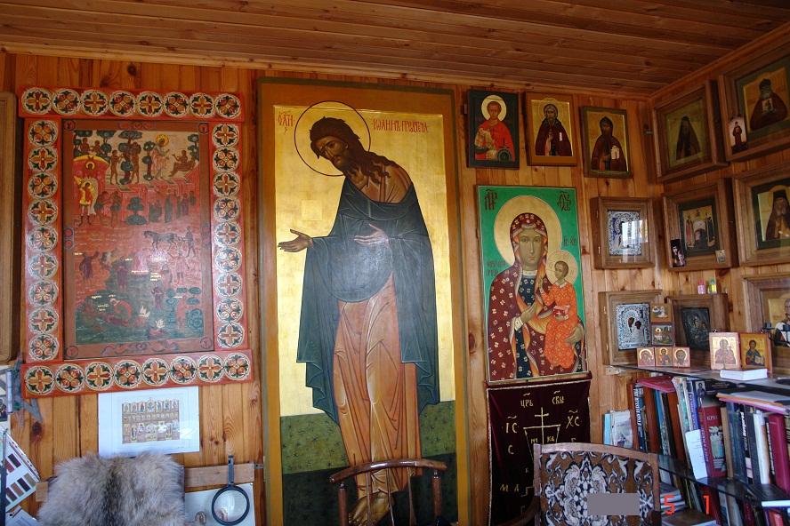 кабинете икона Иоанн Предтеча