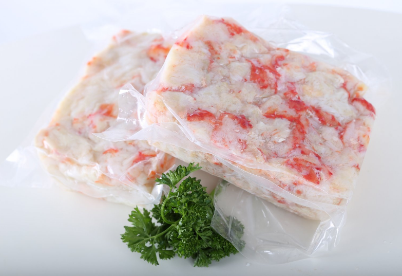 Салатное крабовое мясо
