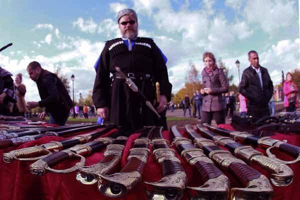 Росгвардия закупит позолоченные казачьи шашки - зеленоград инфо