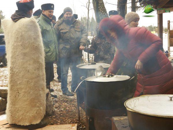 Тихомиров Андрей Викторович глава района поварово с казаками