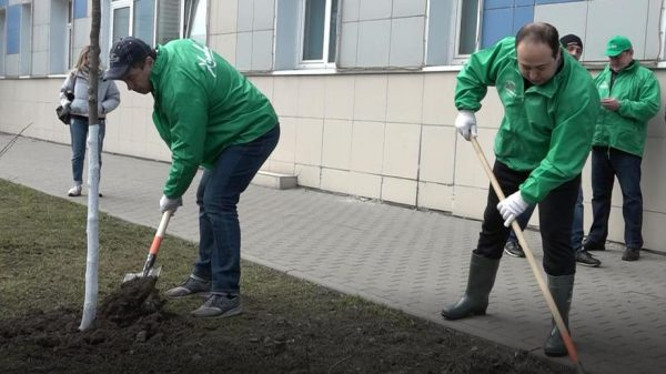 уборка улиц в Химках