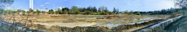 Реконструкция городского пруда и парка Победы в Зеленограде