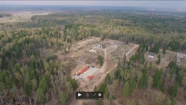 Строительство нового полигона у Зеленограда