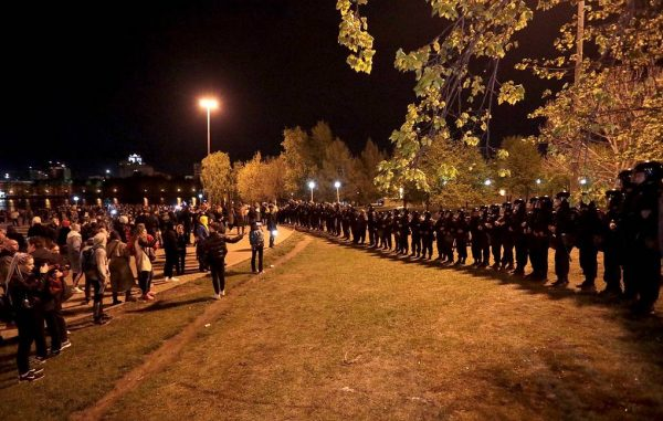 Екатеринбург задержали 96 человек