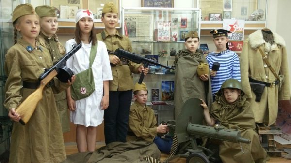 Зеленоград. Музей школы № 2045