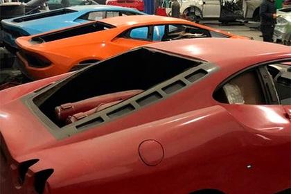 Обнаружена фабрика поддельных Ferrari