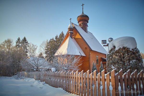 25 лет назад Патриарх Алексий II освятил Филаретовский храм в Зеленограде