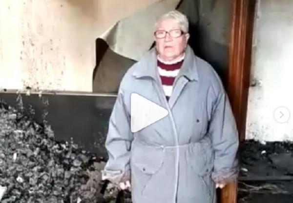 11 мая произошёл пожар. Просим помощи!