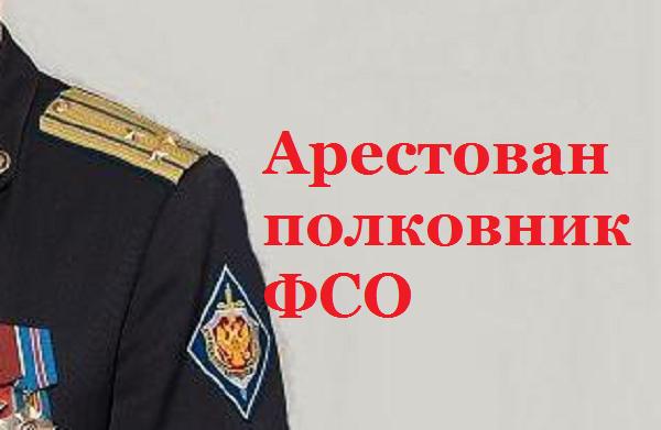 Суд в Москве арестовал полковника ФСО, обвиняемого в крупном мошенничестве