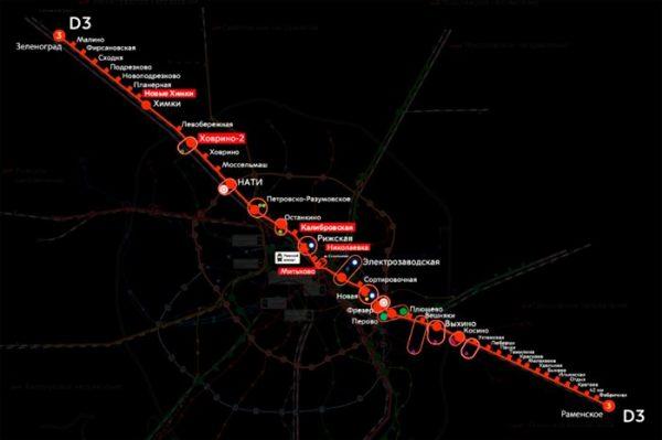Дорожная карта по созданию МЦД-3 может появиться в течение месяца