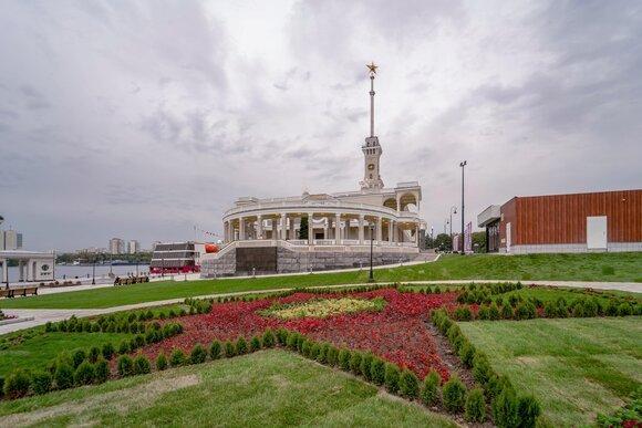 Собянин рассказал о благоустройстве территории парка и набережной Северного речного вокзала