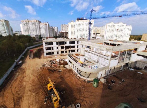 Школу на 1,1 тысячи мест откроют в Солнечногорске осенью 2021 года