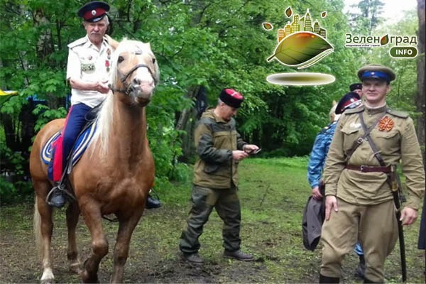 09.05.21г. Андреевка: парад для одного Героя