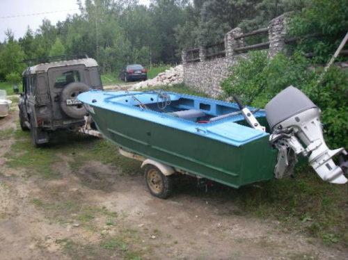купить бу лодку во  скумпия  бу