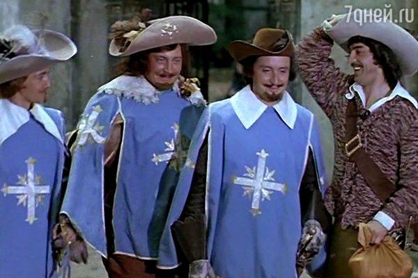 Фото из к/ф дартаньян и три мушкетера