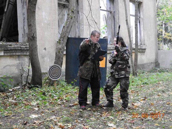 30-09-2017 Первый раз приняла участие команда девушек из Общероссийской общественной организации «Офицеры России»