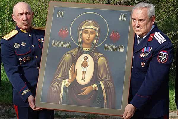 dobrovol-tsy-donbassa-dostavili-v-serbiyu-osobo-pochitaemuyu-ikon-rossiya-i-vasha-rodina-tozhe
