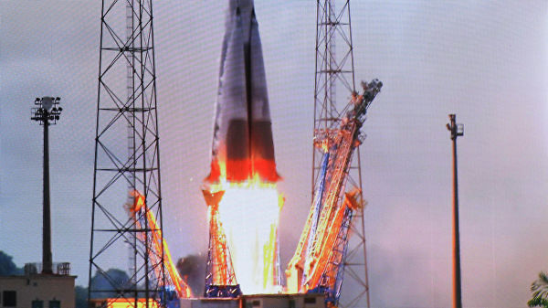Союз стартовал с космодрома