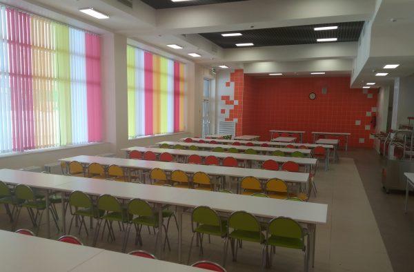 столовая в новой школе 2045